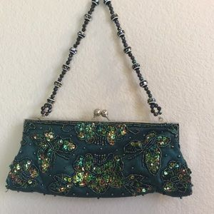 Apt. 9 Bags - 💋3/$15  Apt 9 Gorgeous Green  Evening Purse NWOT